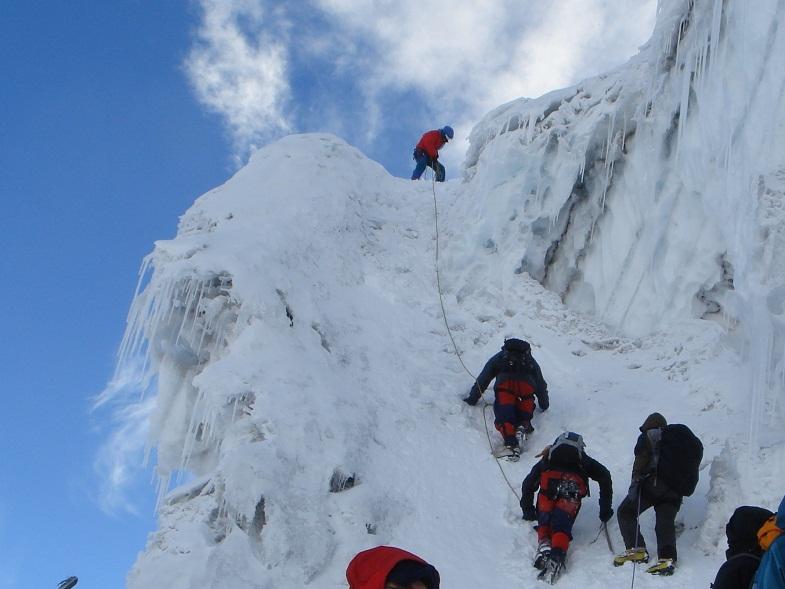 Альпинистский маршрут на Котопакси
