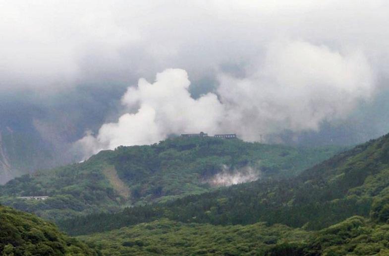 Хаконэ извержение