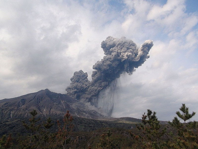 Извержение Сукурадзимы