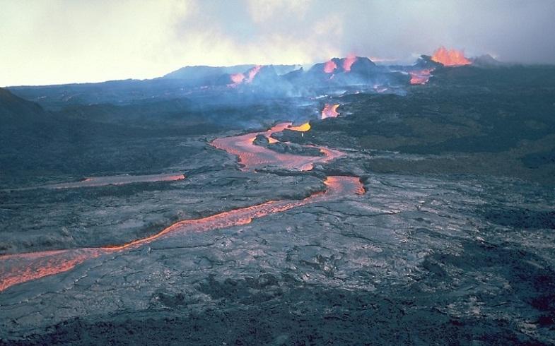 Извержение Мауна-Лоа в 1984 году
