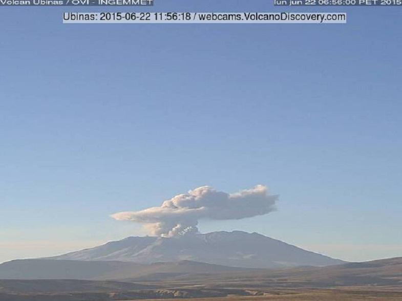 Убинас вулкан