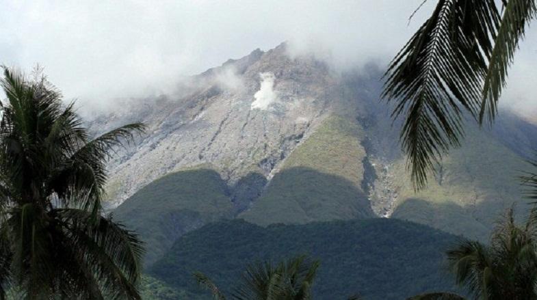 булусан вулкан