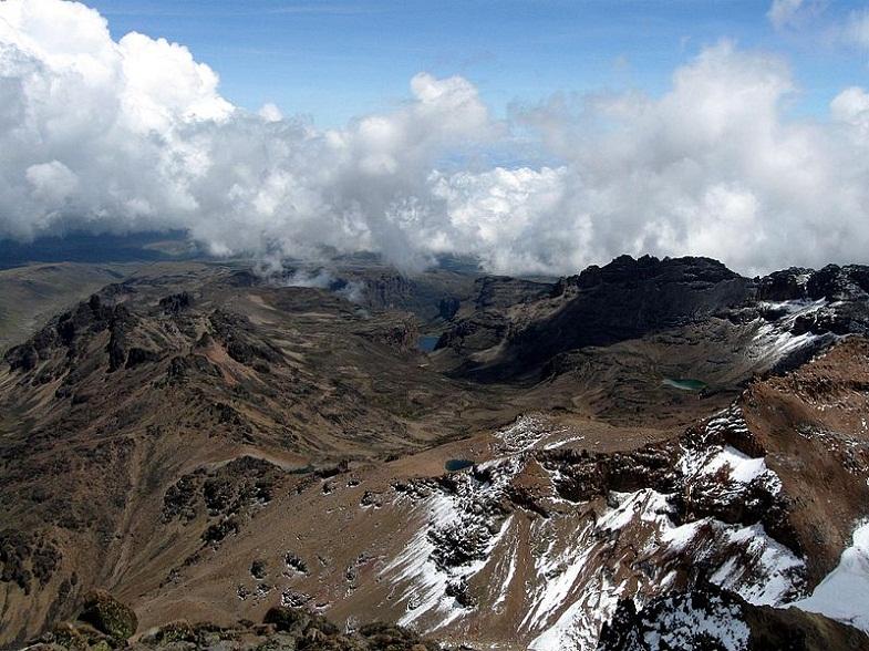 долина чонгора с пика нелион