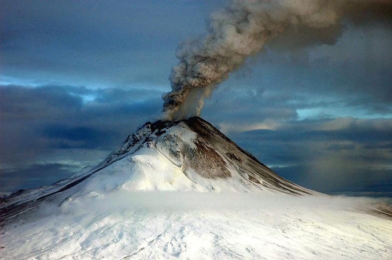 извержение Августина