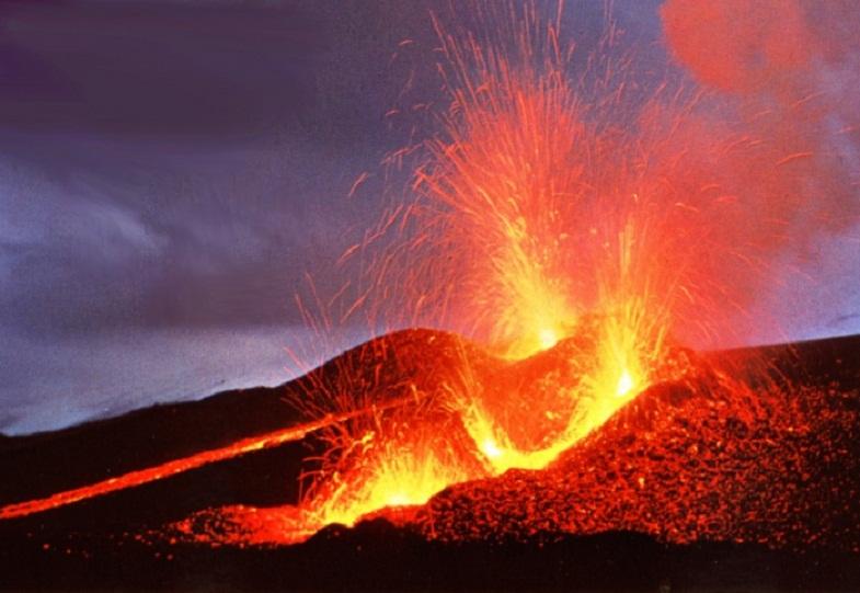 извержение Геклы