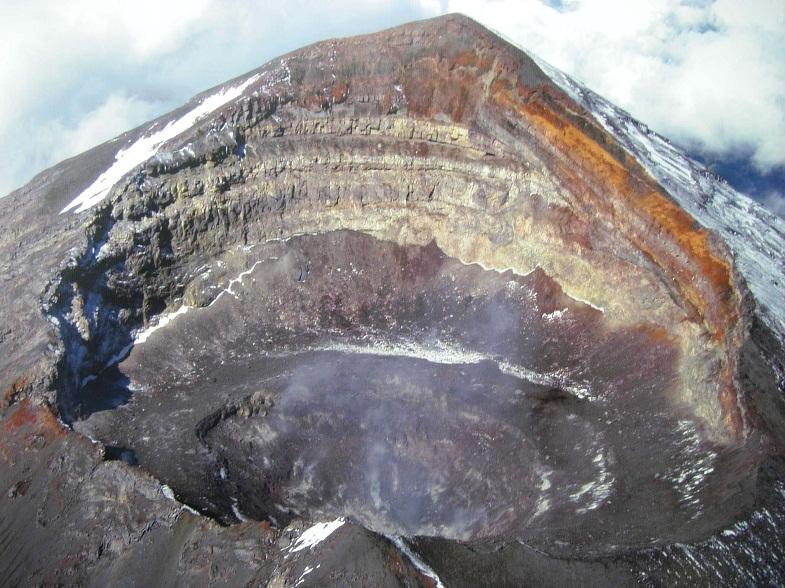 кратер Попокатепетля