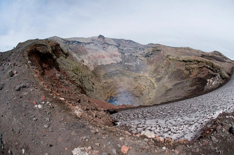 кратер Вильяррики