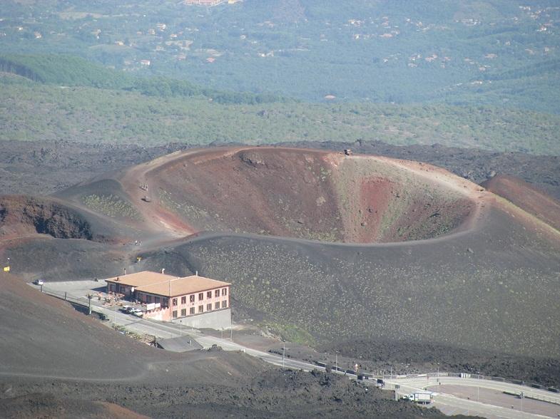 кратер этны