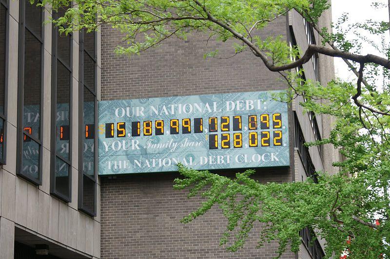 счетчик национального долга