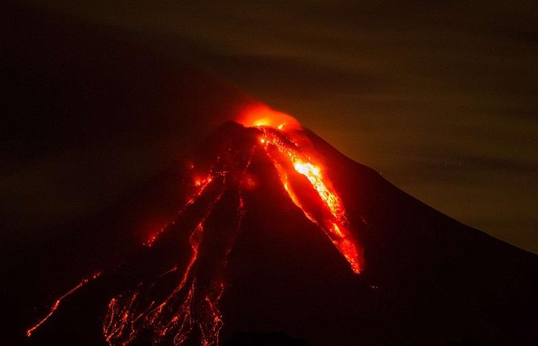 Извержение Колимы