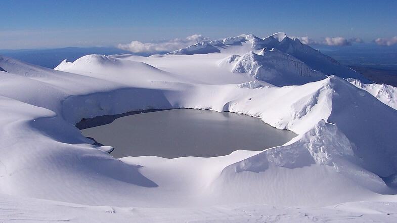 Озеро Руапеху