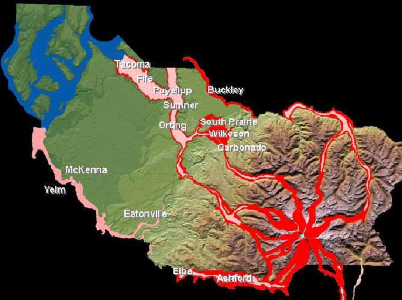 Возможные маршруты лахаров Рейнира