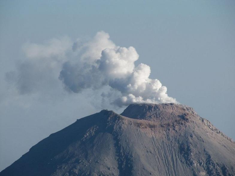 извержение Орисаба
