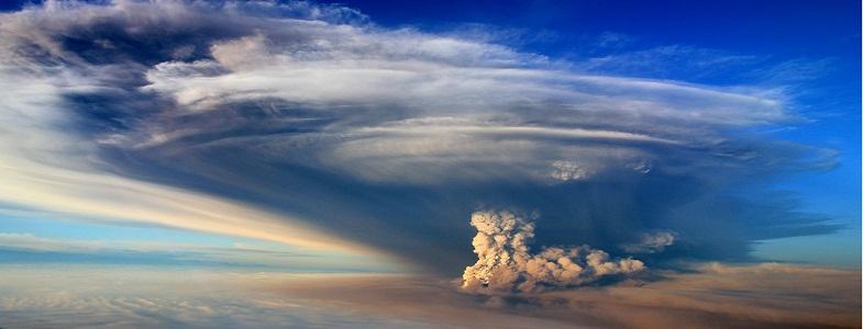 извержения и климат