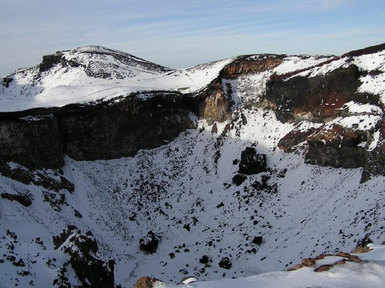 кратер Фудзиямы
