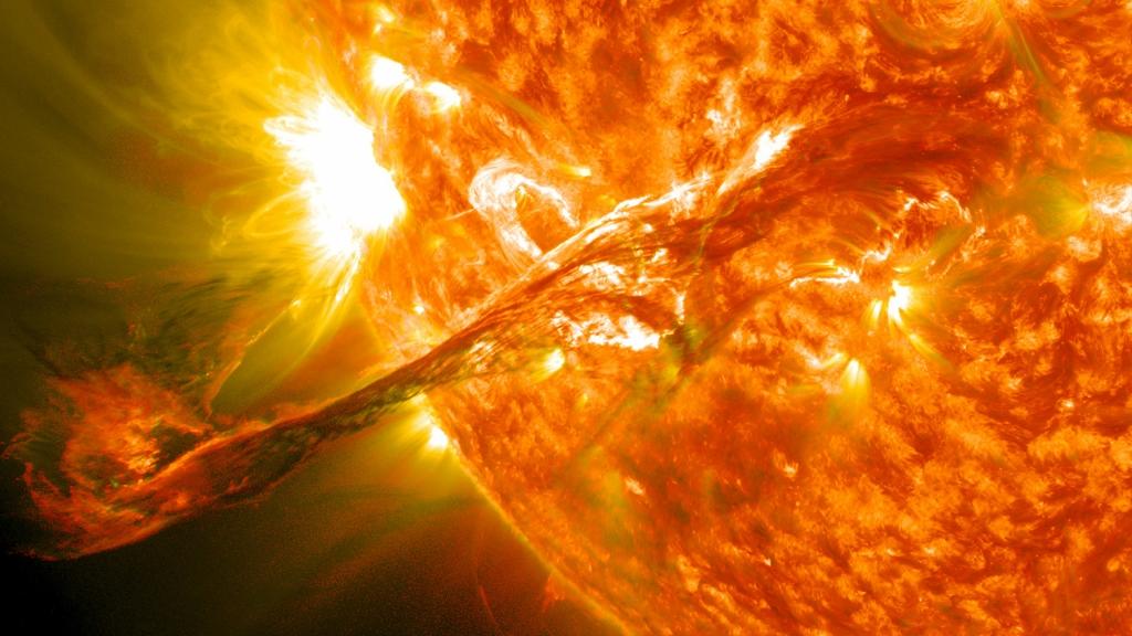 солнечная вспышка