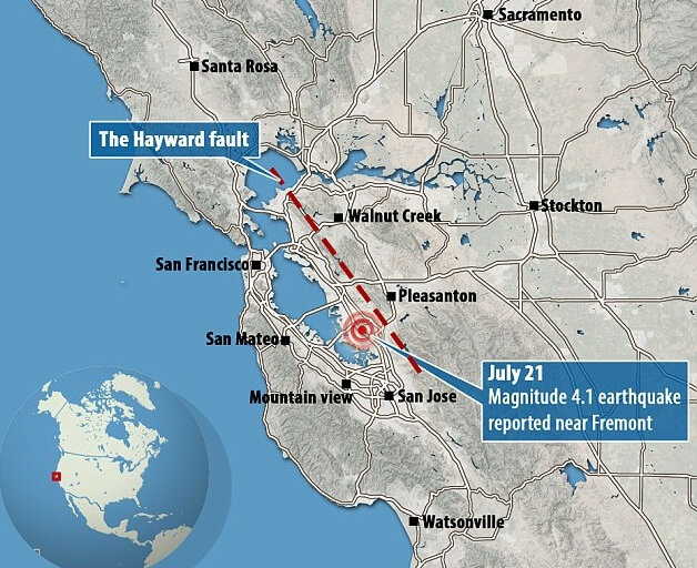 the hayward fault