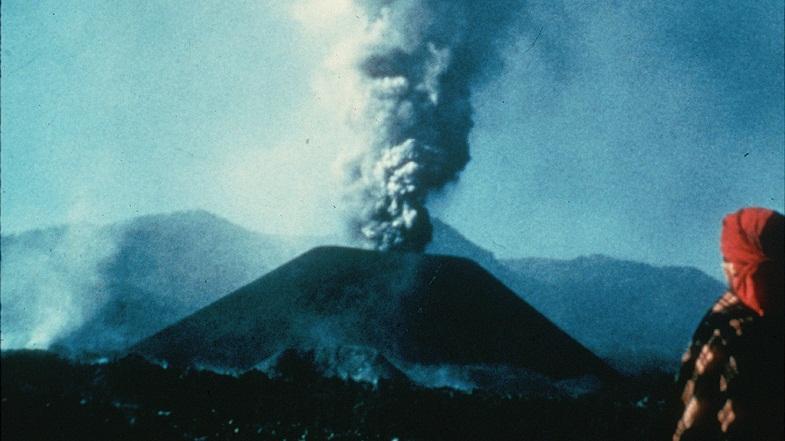 Извержение Парикутина в 1944 году