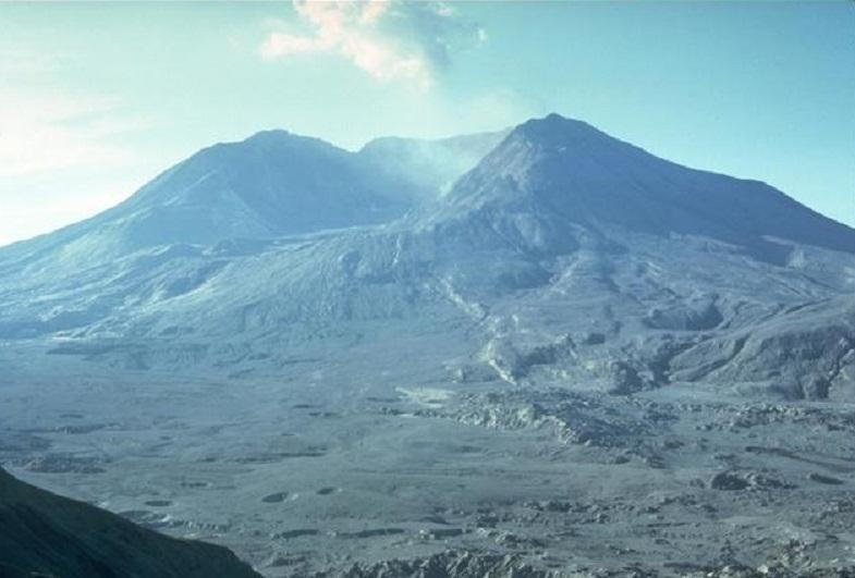 Сент-Хеленс после извержения