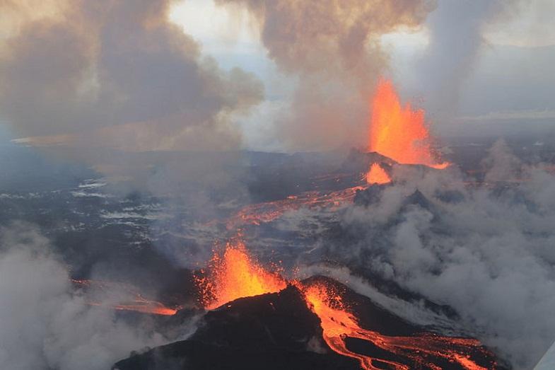 баурдарбунга извержение