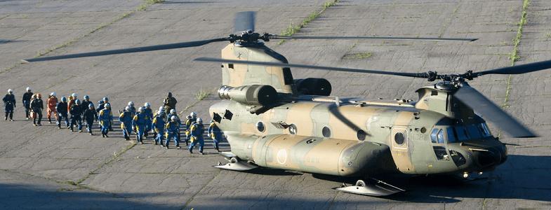 спасатели Онтакэ