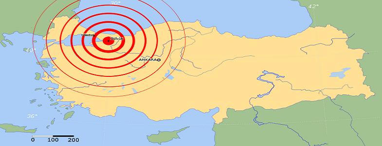 землетрясение измит