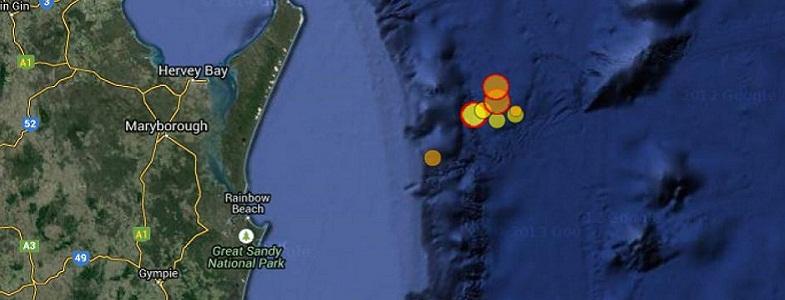 землетрясения Квинсленд