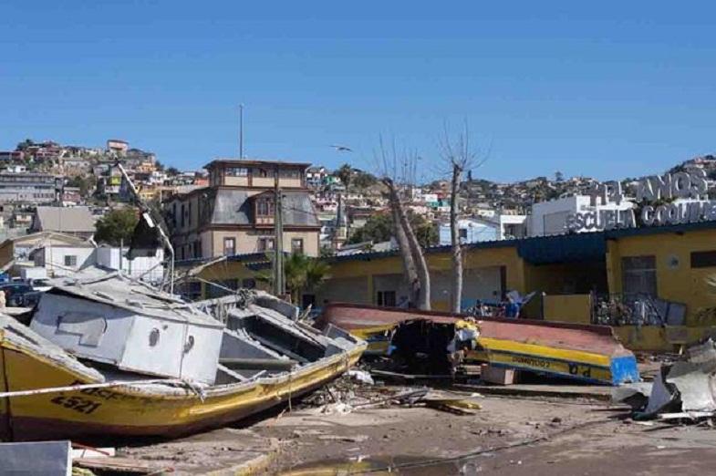 Чили после землетрясения и цунами