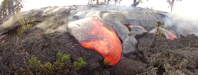 Килауэа лава