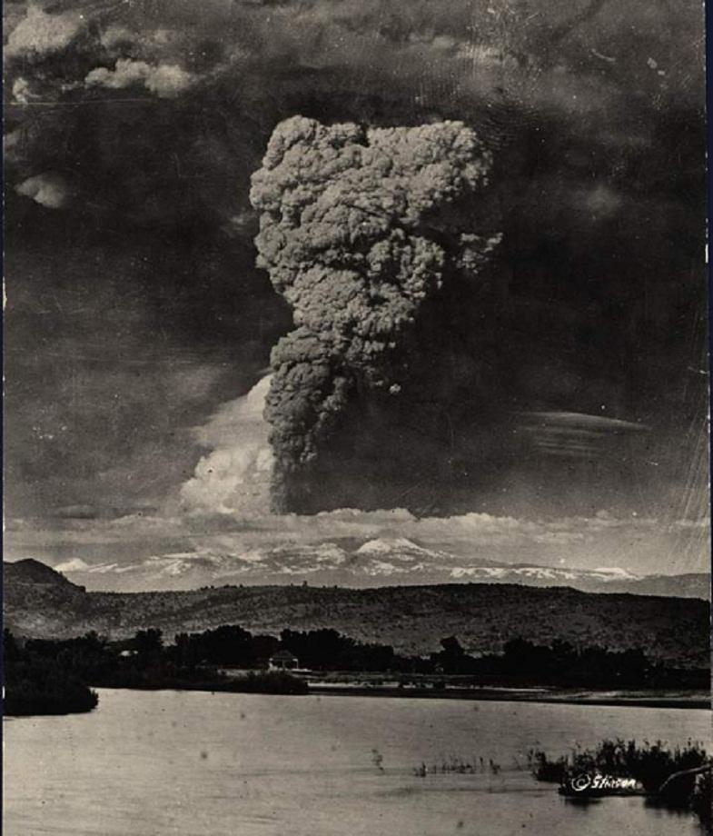 Извержение Лассен-Пик 22 мая 1915 года