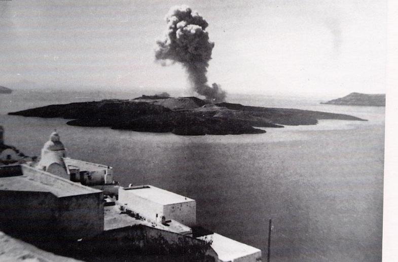 Извержение Санторини в 1950 году