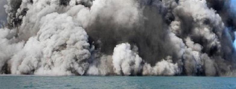 подводное извержение