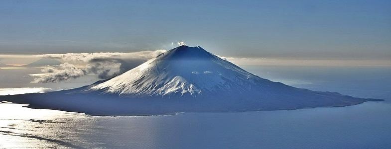 Алаид вулкан