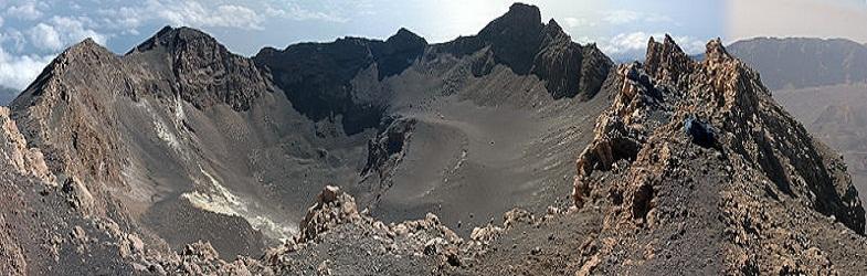 Кратер вулкана Фогу