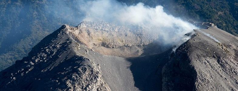 Колима кратер