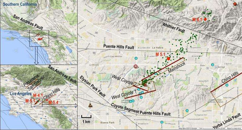 Лос-Анджелес землетрясение 2014