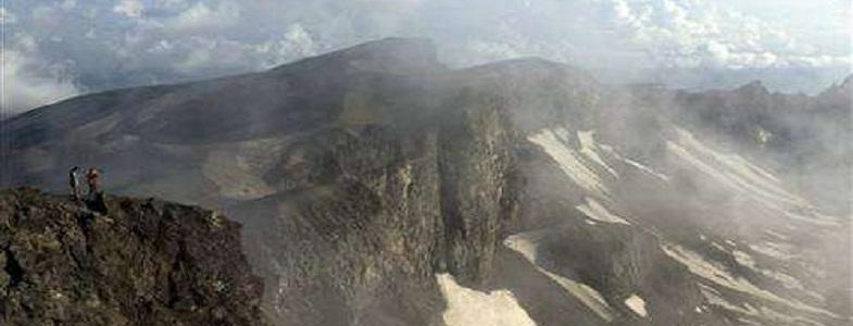 Пэктусан вулкан