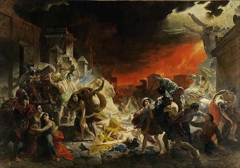 Последний день Помпей, Карл Брюллов
