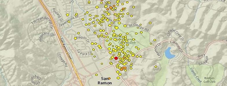 Сан-Рамон землетрясения