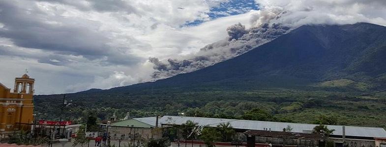 Фуэго вулкан 10 ноября