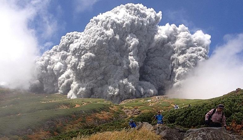 Онтакэ извержение