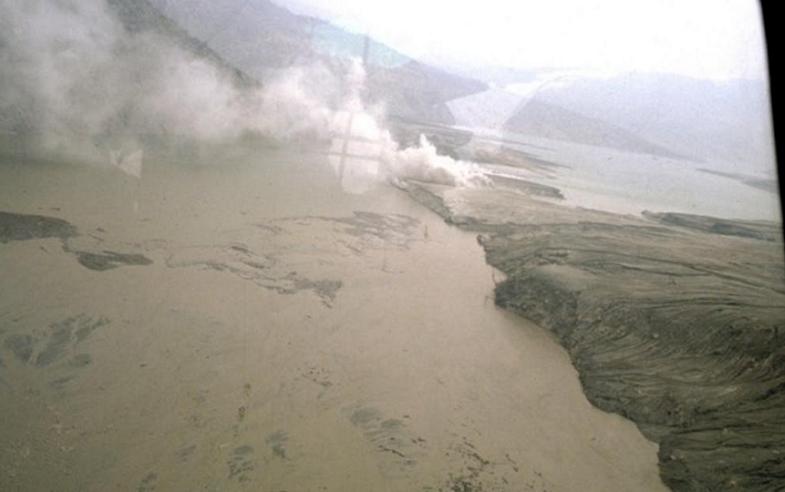 Разлив реки Рио-Магдалена
