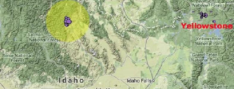 Айдахо подземные толчки