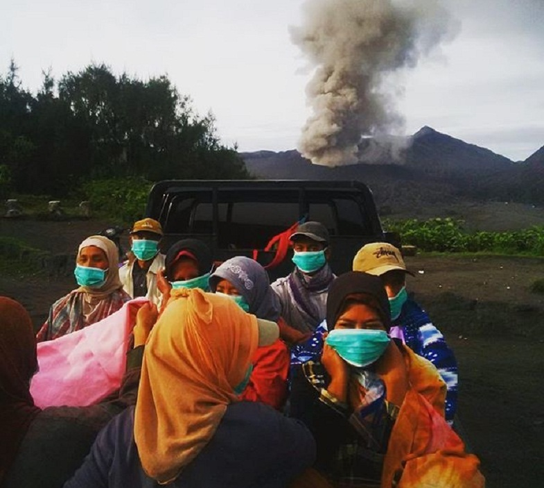 Бромо эвакуация