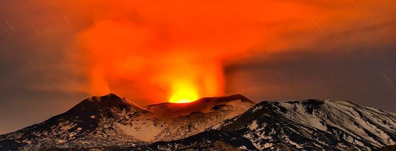 Этна 3 декабря