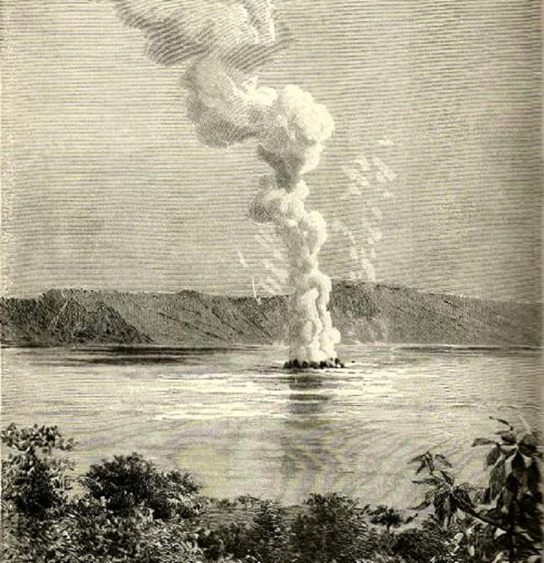 Извержение Илопанго в 1880 году