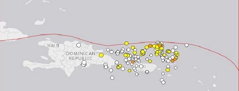 Пуэрто-Рико землетрясения
