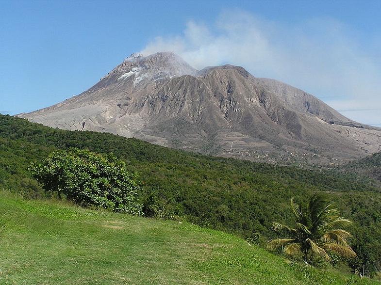 Суфриер-Хилс вулкан