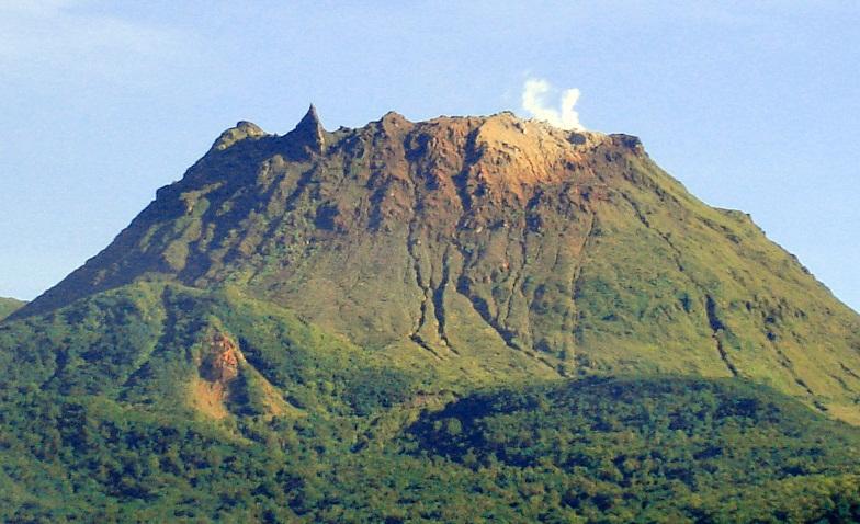 Суфриер вулкан