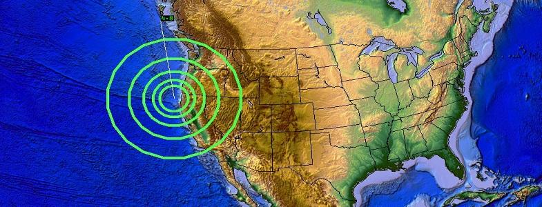Юрика землетрясение